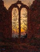 Caspar David Friedrich Klosterruine Oybin china oil painting reproduction