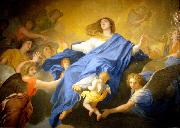 Charles le Brun L Assomption de la Vierge oil on canvas