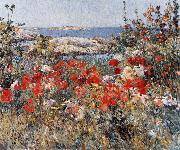 Childe Hassam Celia Thaxter's Garden, Isles of Shoals oil painting reproduction
