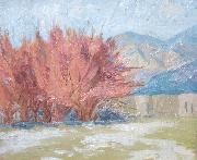 Cordelia Creigh Wilson After the Snowfall oil on canvas