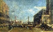 Francesco Guardi The Little Square of St. Marc china oil painting reproduction