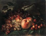 George Henry Hall Peaches Grapes and Cherries china oil painting reproduction