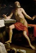 Guido Cagnacci Hl. Hieronymus painting