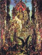 Gustave Moreau Jupiter und Semele oil painting on canvas