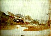 J.M.W.Turner valley of the glaslyn china oil painting artist
