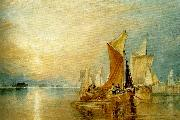 J.M.W.Turner stangate creek on  the river medway oil painting reproduction