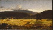 Jasper Francis Cropsey Bareford Mountains oil on canvas