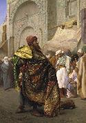 Jean Leon Gerome Carpet Merchant of Cairo china oil painting reproduction