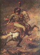 Jean Louis Voille Charging Chasseur by Theodore Gericault oil painting reproduction