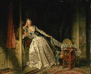 Jean-Honore Fragonard The Stolen Kiss china oil painting reproduction