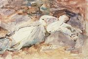 John Singer Sargent Violet Sleeping oil painting reproduction