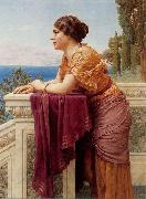John William Godward The Belvedere china oil painting artist