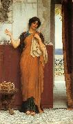 John William Godward Idle Thoughts oil painting reproduction