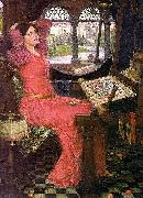 I am half sick of shadows said the lady of shalott