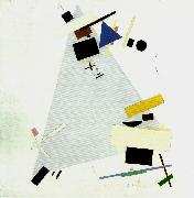 Kazimir Malevich suprematism oil painting reproduction