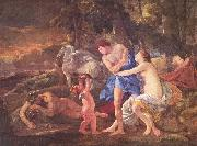 Nicolas Poussin Cephalus und Aurora oil painting reproduction