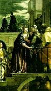 Paolo  Veronese the visitation oil painting reproduction