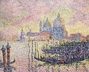 Paul Signac grand canal oil painting reproduction