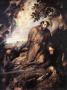 Peter Paul Rubens St Francis of Assisi Receiving the Stigmata china oil painting reproduction