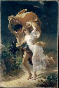 Pierre Auguste Cot The Storm oil on canvas
