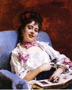 Raimundo Madrazo Fond Memories oil