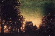 Ralph Albert Blakelock Edge of the Forest oil