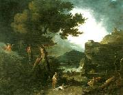 Richard Wilson the destruction of the children of niobe oil