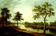 Richard Wilson the thames near twickemham oil