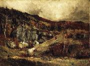 Robert Crannell Minor In the Adirondacks oil