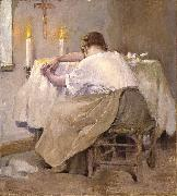Robert Reid Her First Born painting