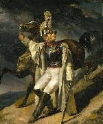 Theodore Gericault The Wounded Cuirassier, study oil painting reproduction