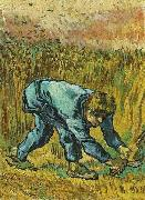 Vincent Van Gogh Reaper with Sickle china oil painting reproduction