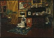 William Merritt Chase Studio Interior china oil painting reproduction