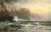 William Trost Richards The League Long Breakers Thundering on the Reef oil
