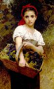 Adolphe William Bouguereau Grape Picker oil painting reproduction