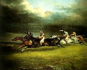 charles emile callande course de chevaux dite le derby d'epsom china oil painting reproduction