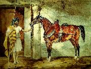 charles emile callande cheval arabe oil painting reproduction