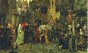georg von rosen The Entry of Sten Sture the Elder into Stockholm oil