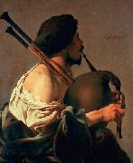 unknow artist The Bagpiper china oil painting reproduction