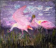 Abbott Handerson Thayer Roseate Spoonbills oil painting reproduction