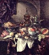 Abraham van Beijeren Still life with fruit oil painting reproduction