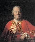 Allan Ramsay Portrait of David Hume (1711-1776), Historian and Philosopher oil painting reproduction