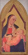 Ambrogio Lorenzetti Madonna del Latte oil painting reproduction