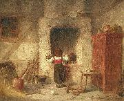 Anders Gustaf Koskull Household Work painting