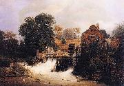 Andreas Achenbach Material and Dimensions china oil painting reproduction