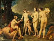 Anton Raphael Mengs The Judgment of Paris oil painting reproduction