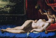 Artemisia  Gentileschi Sleeping Venus oil painting reproduction