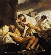 CAMPEN, Jacob van Argus, Mercury and Io oil on canvas