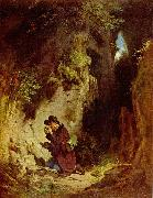 Carl Spitzweg Der Geologe oil painting reproduction
