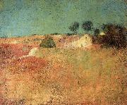 Charles Webster Hawthorne Green Sky Landscape oil on canvas